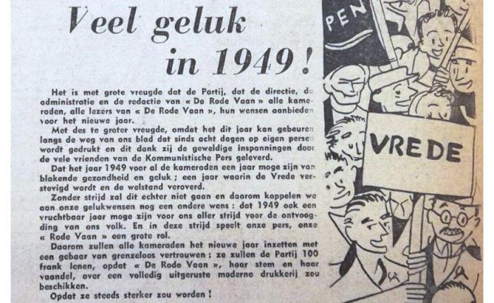 Zestig jaar geleden: De Rode Vaan wordt eenweekblad