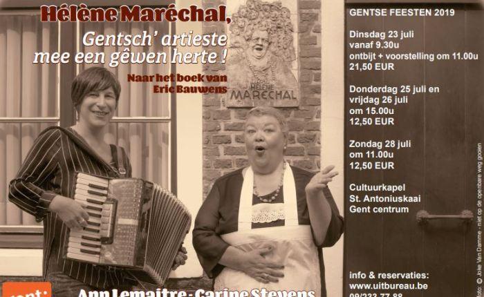 """""""Hélène Maréchal"""" wordt theaterproductie tijdens de GentseFeesten"""