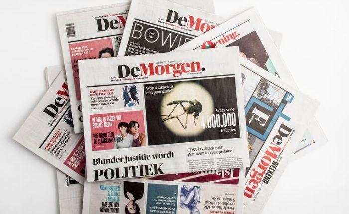 Veertig jaar geleden: de krant De Morgen verschijnt voor heteerst