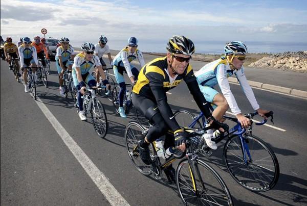 Tien jaar geleden: Lance Armstrong inTenerife