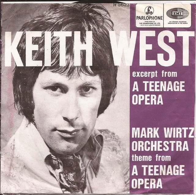 Keith West wordt 75…