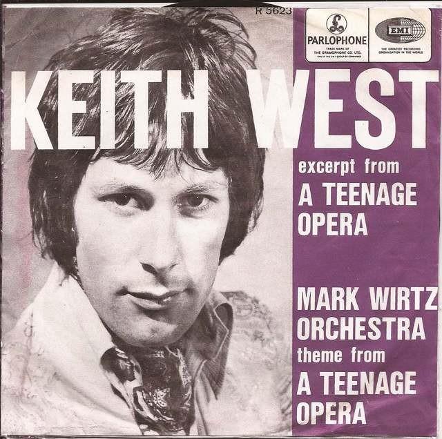 Keith West wordt75…