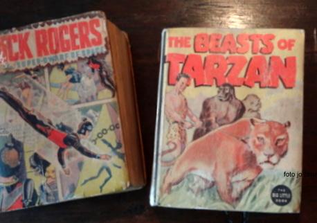 Negentig jaar geleden: geboorte van Buck Rogers en Tarzan alsstripfiguren