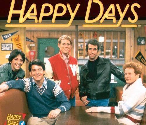 """45 jaar geleden: eerste aflevering van """"Happy Days"""" op de Amerikaansetelevisie"""