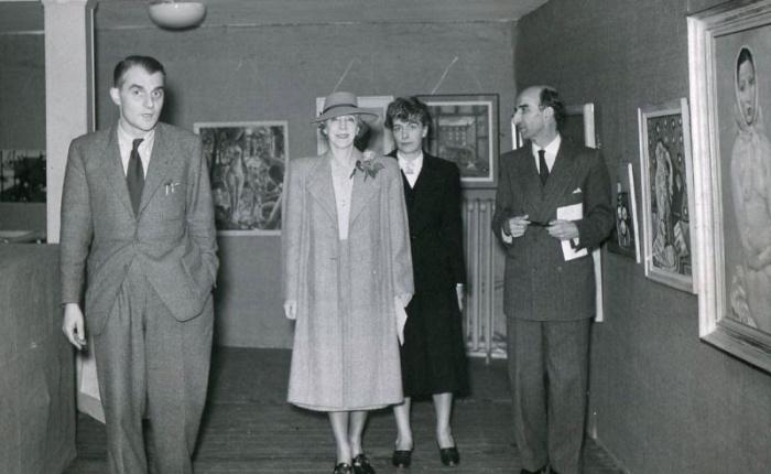 Zeventig jaar geleden: koningin Elisabeth bezoekt De RodeVaan