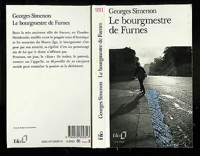 "Tachtig jaar geleden: Georges Simenon voltooit ""Le bourgmestre deFurnes"""
