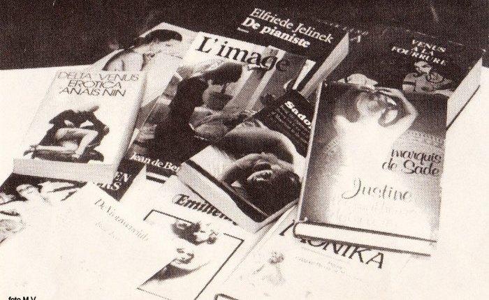 """Dertig jaar geleden:  """"vrouwelijke auteurs van erotische literatuur"""""""