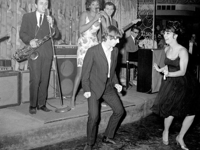 55 jaar geleden: Ringo Starr in the PeppermintLounge