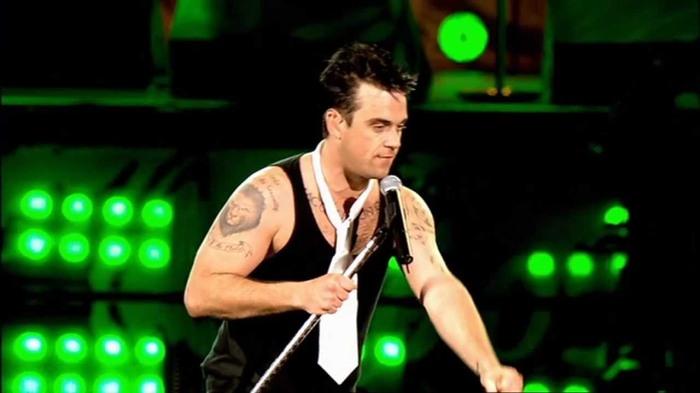 Robbie Williams wordt45…