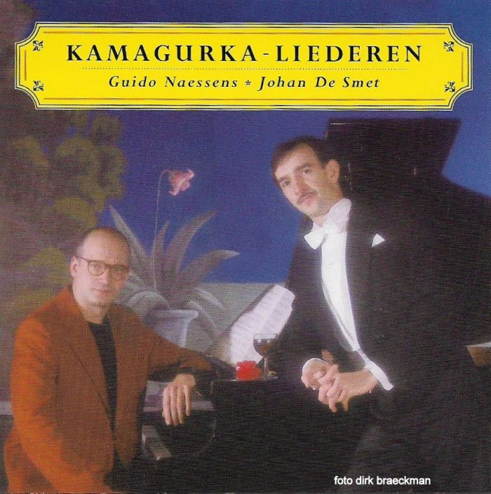 Guido Naessens zingtKamagurka