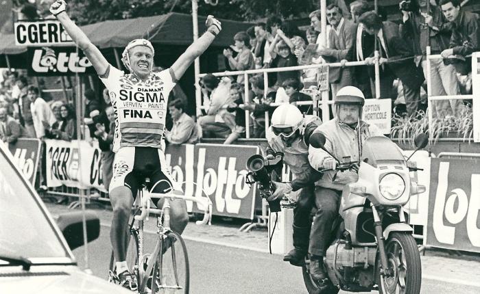 Dertig jaar geleden: Etienne De Wilde wint de Omloop HetVolk