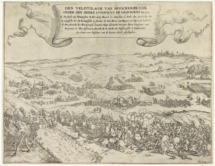 445 jaar geleden: Slag op deMookerheide