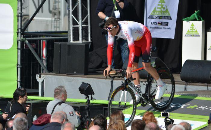 Christophe Laporte wint in Poitou-Charentes