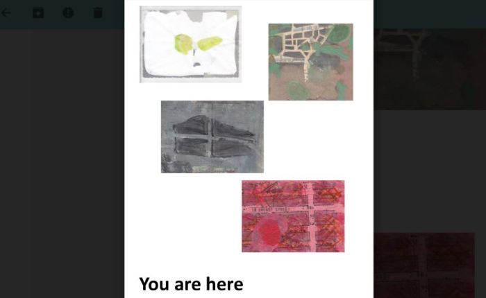 Tentoonstelling 'You arehere'