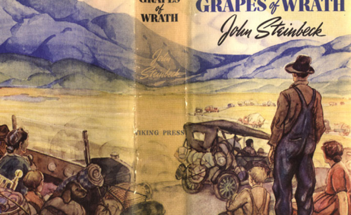 """Tachtig jaar geleden: """"The grapes of wrath"""" van JohnSteinbeck"""