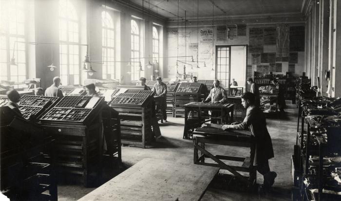 'Drie eeuwen grafische industrie' in het GentseIndustriemuseum