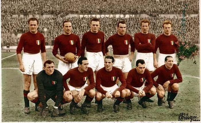 Zeventig jaar geleden: voetbalploeg van A.C.Turijn komt om bijvliegtuigcrash