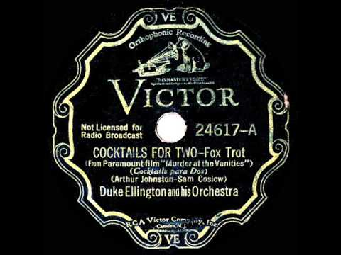 "85 jaar geleden: ""Cocktails for two"" op nummeréén"