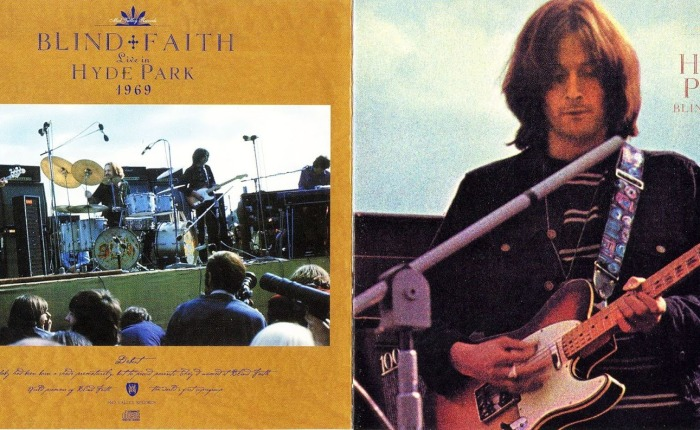 Vijftig jaar geleden: Blind Faith in HydePark