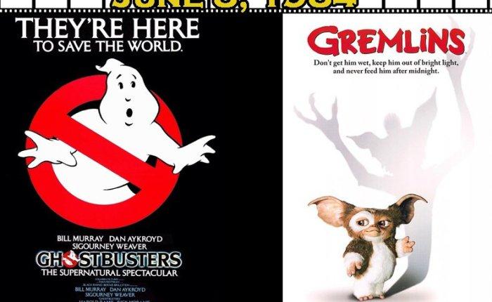 "35 jaar geleden: première van ""Ghostbusters"" en ""Gremlins"""