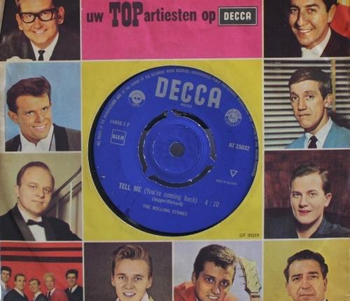 """55 jaar geleden: de Stones brengen """"Tell me""""uit"""