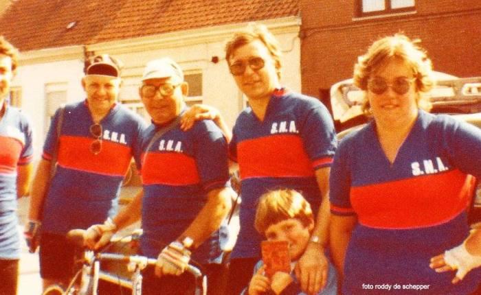 35 jaar geleden: tourtocht met Sport NaArbeid