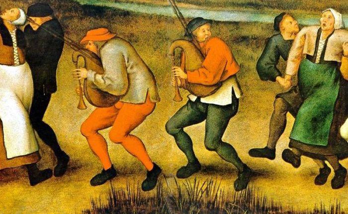 """645 jaar geleden: eerste geval van """"dancemania"""""""