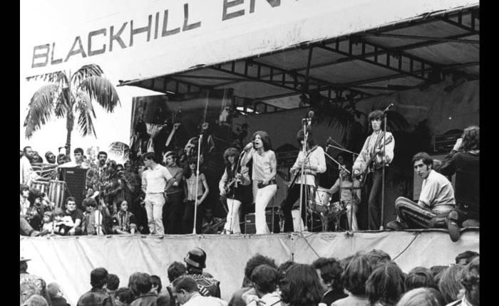 Vijftig jaar geleden: The Rolling Stones in HydePark