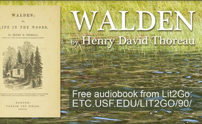 """165 jaar geleden: """"Walden"""" van Henry DavidThoreau"""