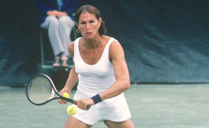 Renée Richards wordt85…
