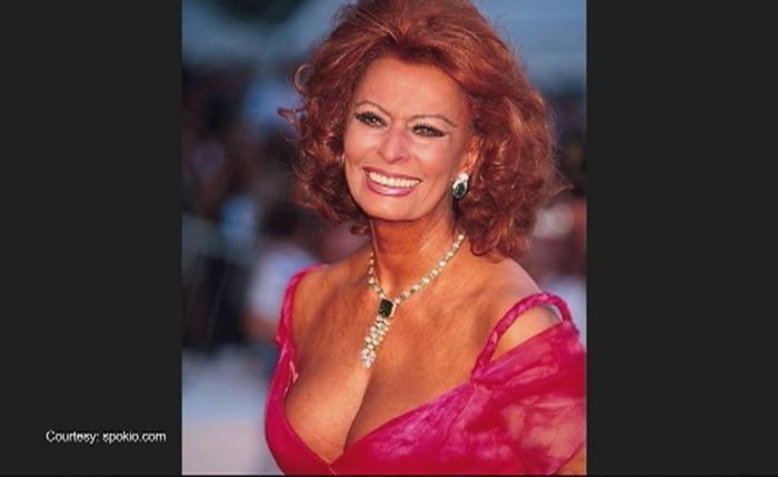Sophia Loren wordt85…