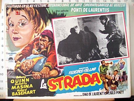 """65 jaar geleden: première van """"LaStrada"""""""