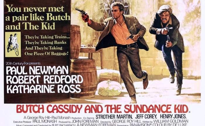 """Vijftig jaar geleden: première van """"Butch Cassidy and the SundanceKid"""""""