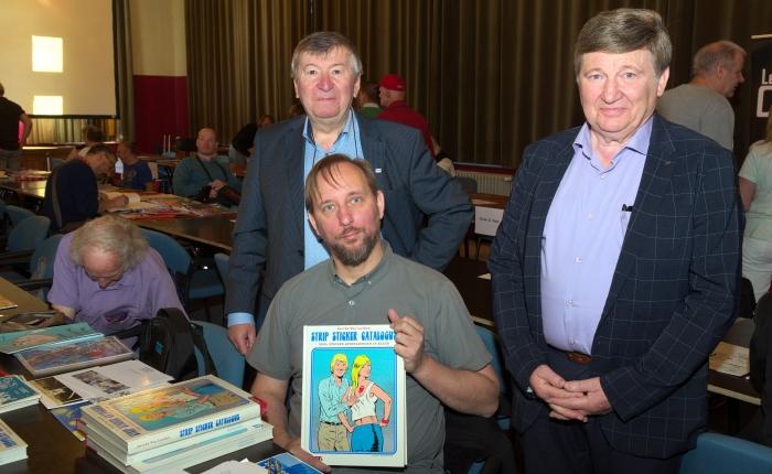 Sascha Van Laeken publiceert 'Strip StickerCatalogus'