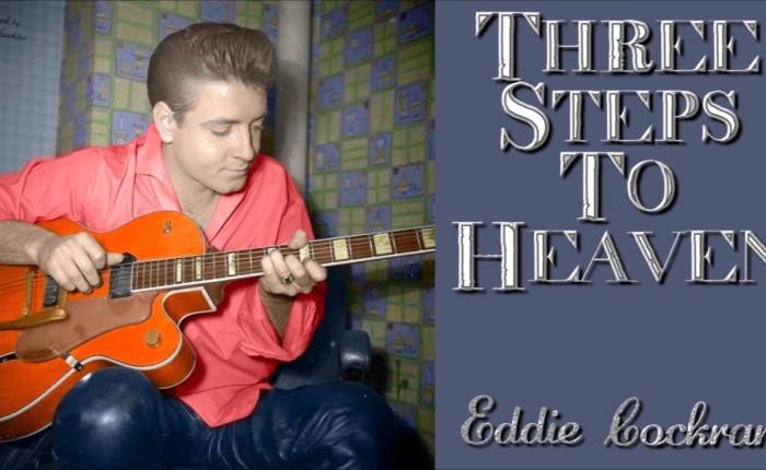 "Zestig jaar geleden: Eddie Cochran neemt ""Three steps to heaven""op"