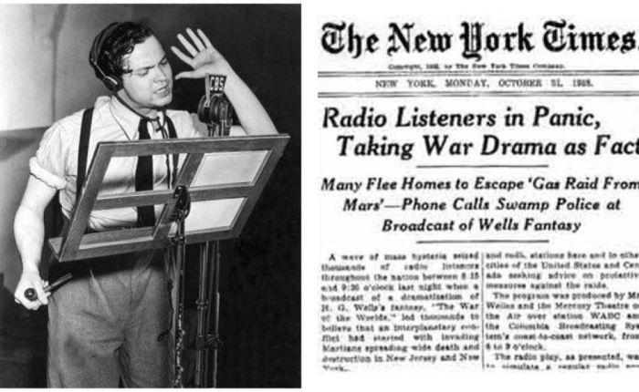 Tachtig jaar geleden: de marsmannetjes vallen Amerikabinnen