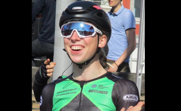 Lorena Wiebes wint in DePanne