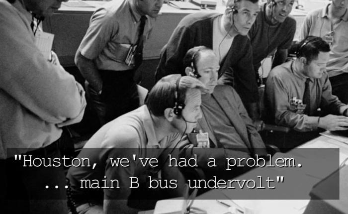 """Vijftig jaar geleden: """"Houston, we have aproblem"""""""
