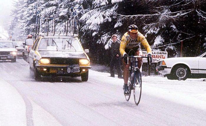 Veertig jaar geleden: Bernard Hinault wint heroïsche Luik-Bastenaken-Luik