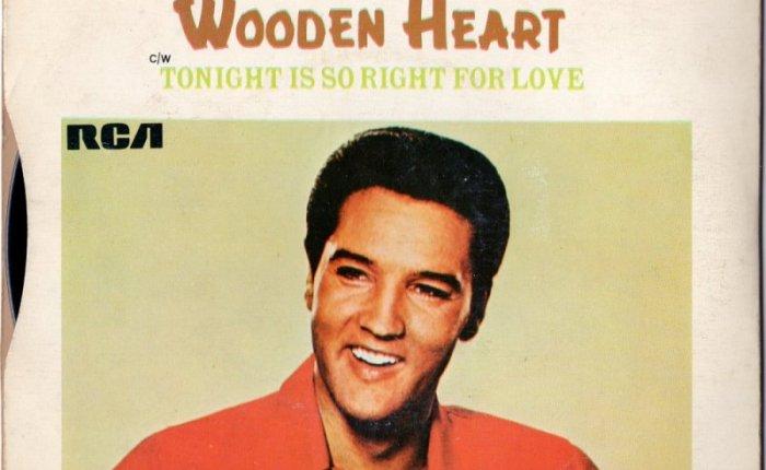 """Zestig jaar geleden: Elvis Presley neemt """"Wooden Heart""""op"""