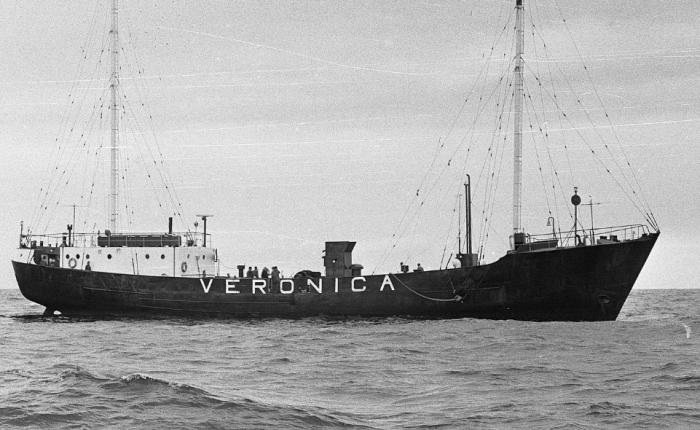Zestig jaar geleden: eerste uitzending van RadioVeronica