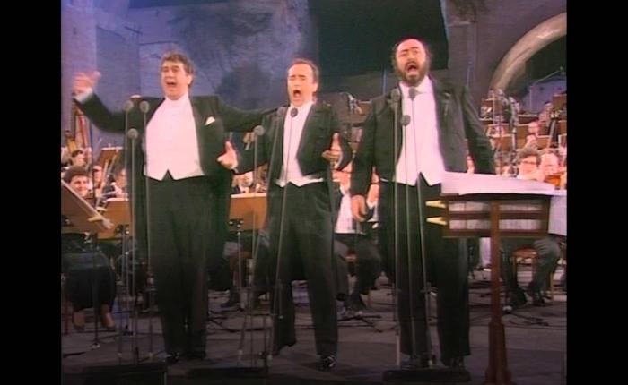 Dertig jaar geleden: de drie tenoren inCaracalla