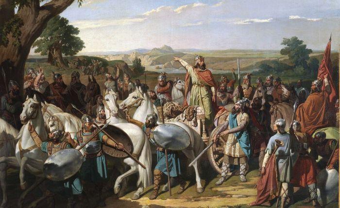 1310 jaar geleden: het begin van de Moorse invasie vanSpanje