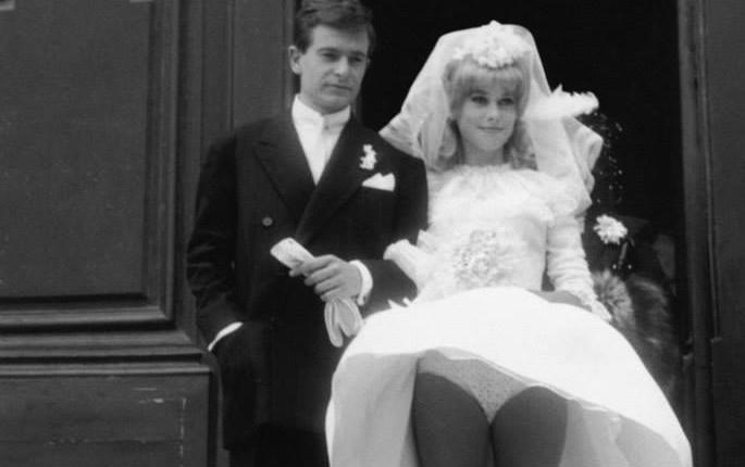 55 jaar geleden: huwelijk David Bailey met CatherineDeneuve