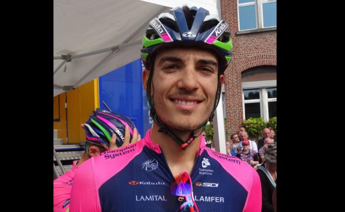 Luca Wackermann wint in de  Tour deLimousin