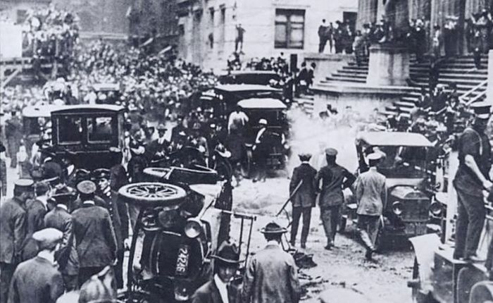 Honderd jaar geleden: the Wall Street Bombing