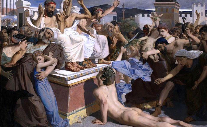 2510 jaar geleden: ontstaan van demarathon