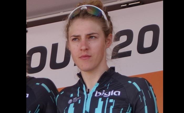 Lizzie Banks wint in de GiroRosa