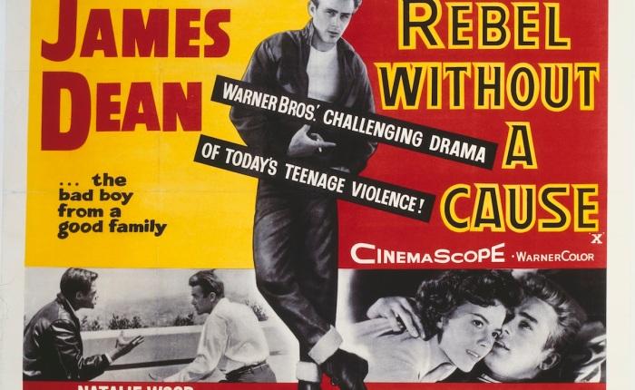 """65 jaar geleden: première van """"Rebel without acause"""""""