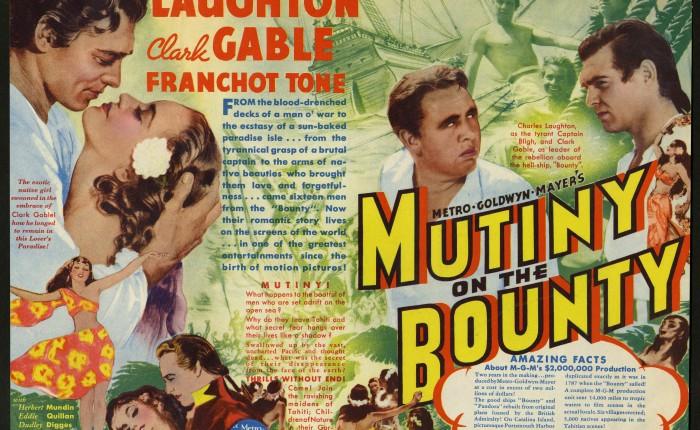 """85 jaar geleden: première van """"Mutiny on theBounty"""""""